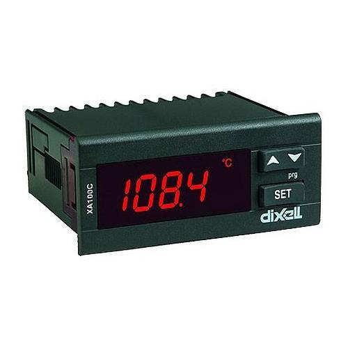 Dixell Anzeigegerät XA100C-1C0TU 24V AC/DC (ohne Fühler) XA100C