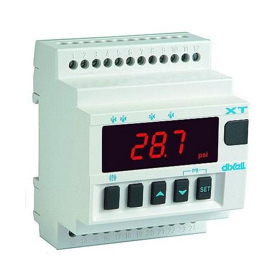 Dixell zweistufiger Temperaturregler XT121D-1N0AU 24V AC/DC (ohne Fühler) XT121D