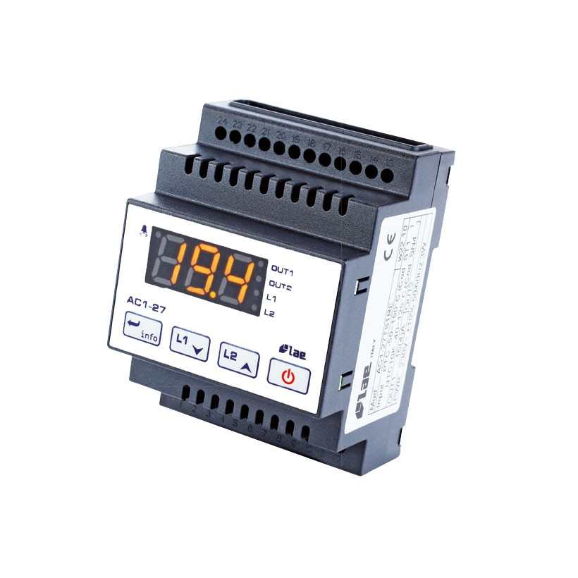 LAE Thermostat AC1-27TS2RE-B (incl. 1 Fühler) AC1