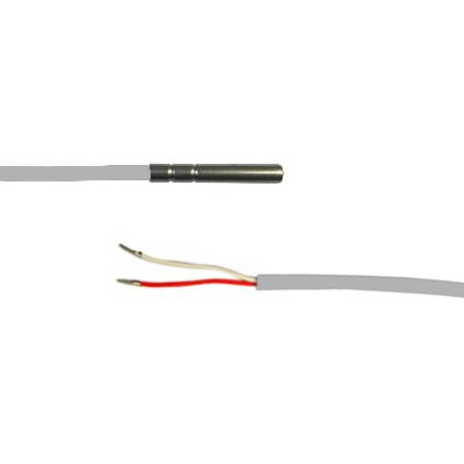 Zinser PT100 Fühler SNPTVS0150 Silikon (1.5 m Kabellänge) - Sensor, wasserfest IP67