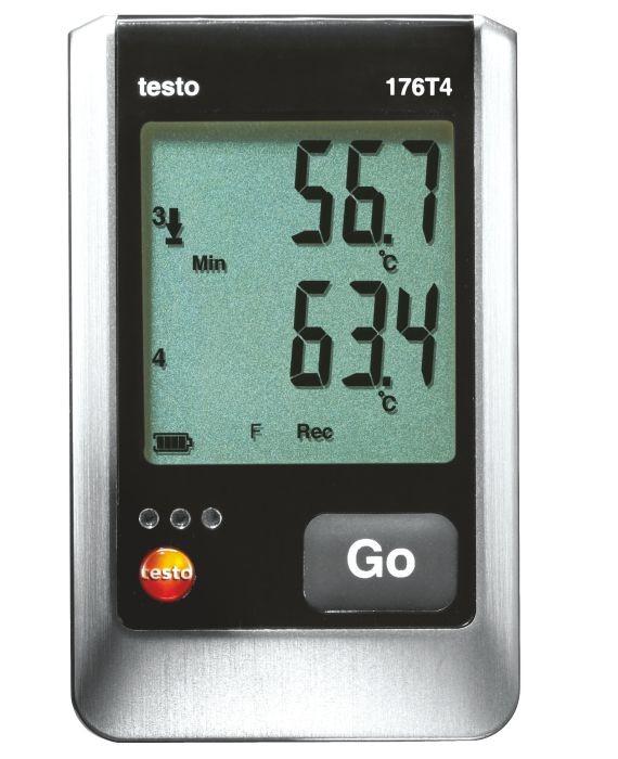testo 176 T4 - Datenlogger für Temperatur (176T4)