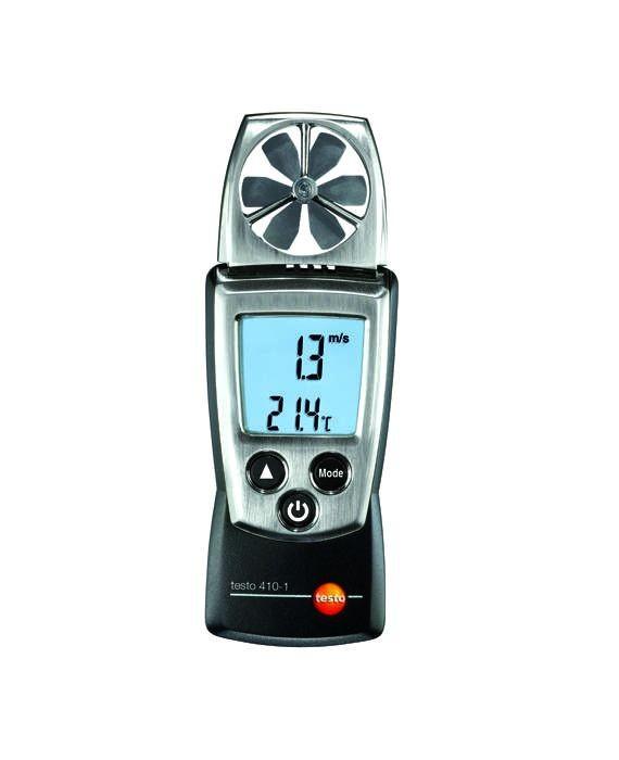 testo 410-1 - Flügelrad-Anemometer (Temperatur)