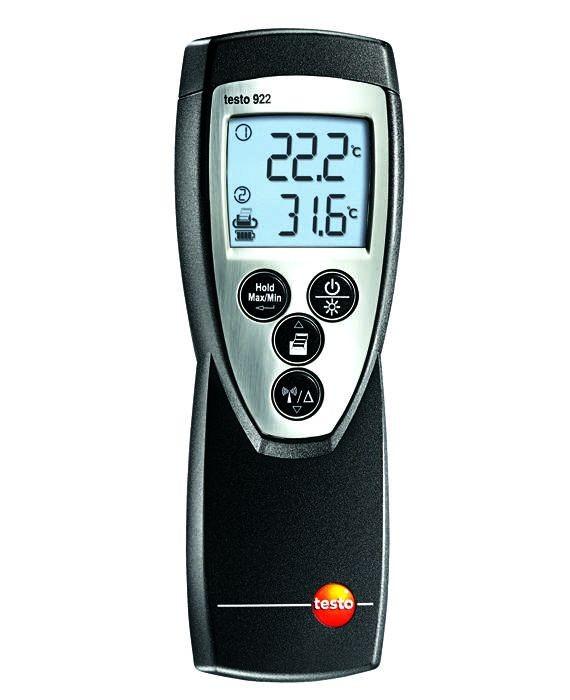 2 Kanal Temperaturmessgerät testo 922 (Funk optional)