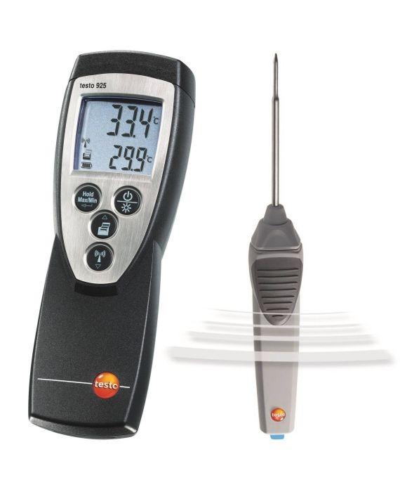1 Kanal Temperaturmessgerät testo 925 (Funk optional)