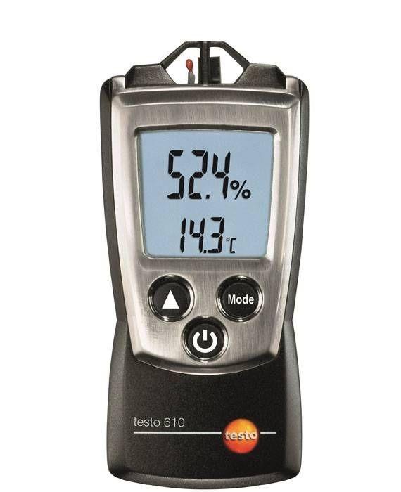 Luftfeuchte- und Temperatur-Messgerät testo 610 Thermohygrometer