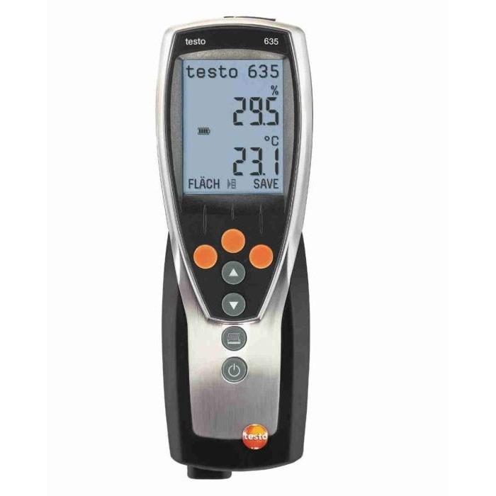 Thermohygrometer testo 635-1 Temperatur und Feuchtemessgerät (Funk optional)