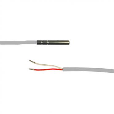 PT100 Fühler SP12VH0150 Silikon -50 ... +200°C (1.5 m Kabellänge) Sensor, wasserfest IP67 - Zinser